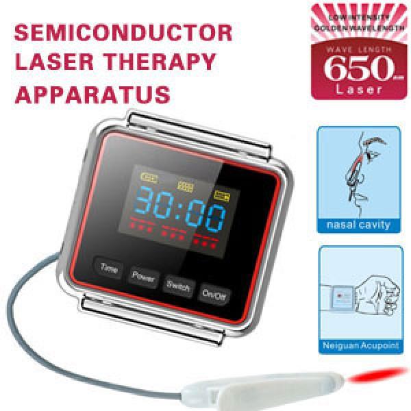 Diabetes portable equipment Wrist Type LLLT nasal polyps Therapy Equipment Laser watch