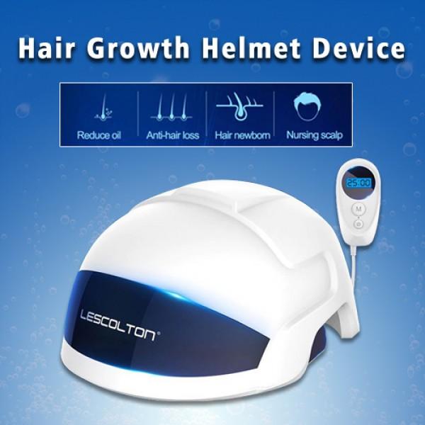 Laser Hair Growth Helmet Device Hair Loss Prevent Promote Hair Regrowth Cap