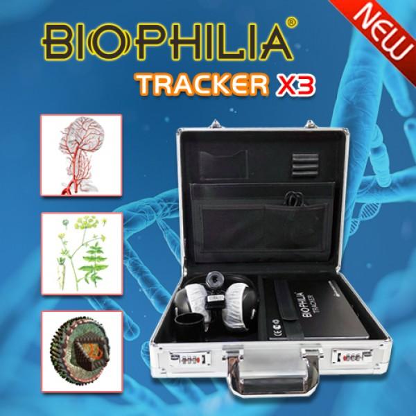 Biophilia Tracker X3  4D Bioresonance Machine - Aura Chakra Healing