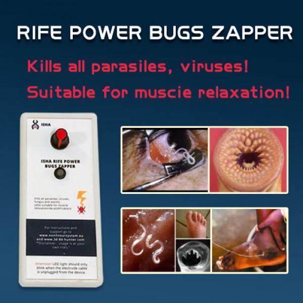 The ISHA Rife power bugs zapper